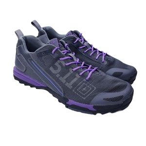 5.11 Tactical Recon Trainer Storm Gray Purple 9